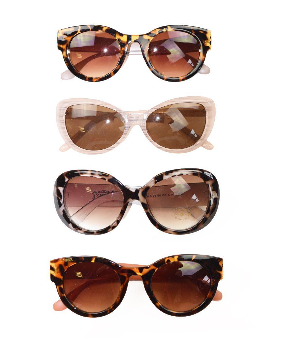 Powder Kim Sunglasses in Tangerine