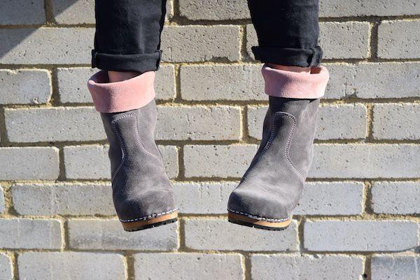 Sanita Charlotta Antracite Clog Boot Seconds