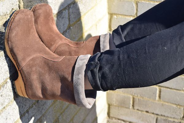 Sanita Charlotta Brown Clog Boot