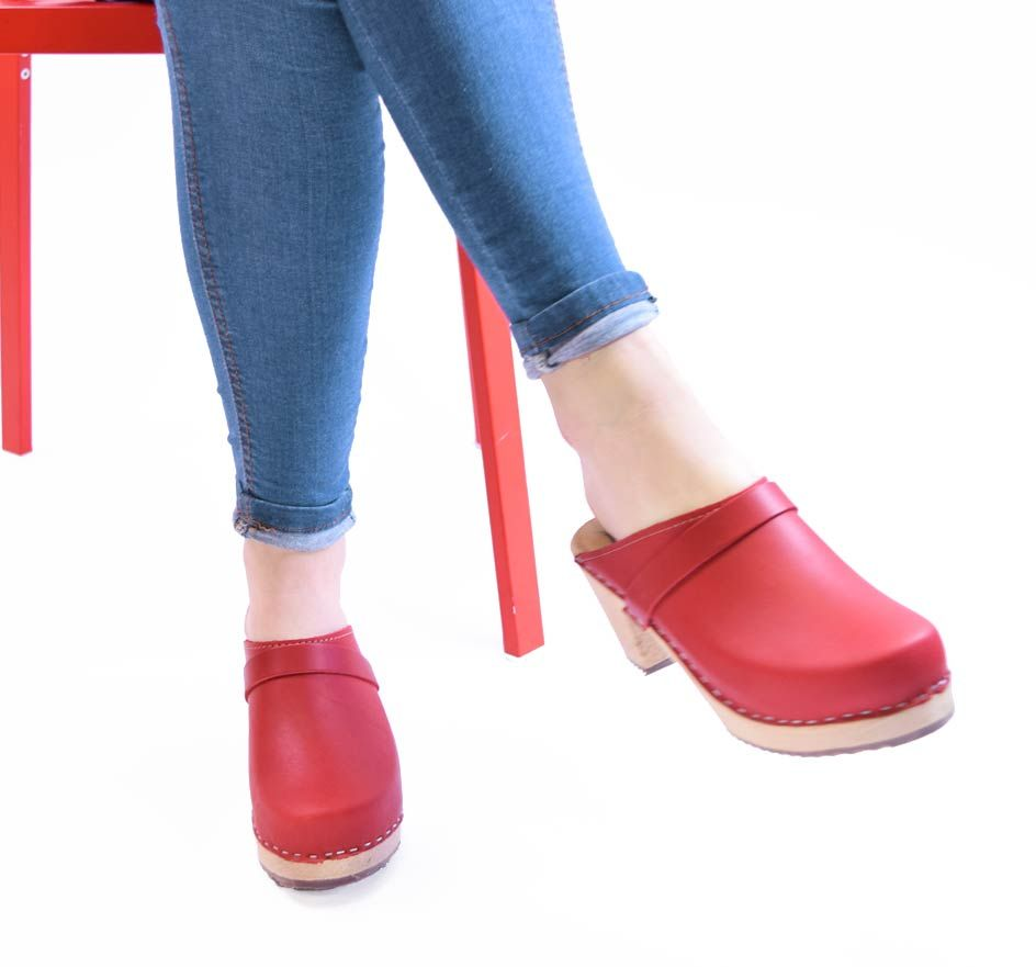 High Clog in Red