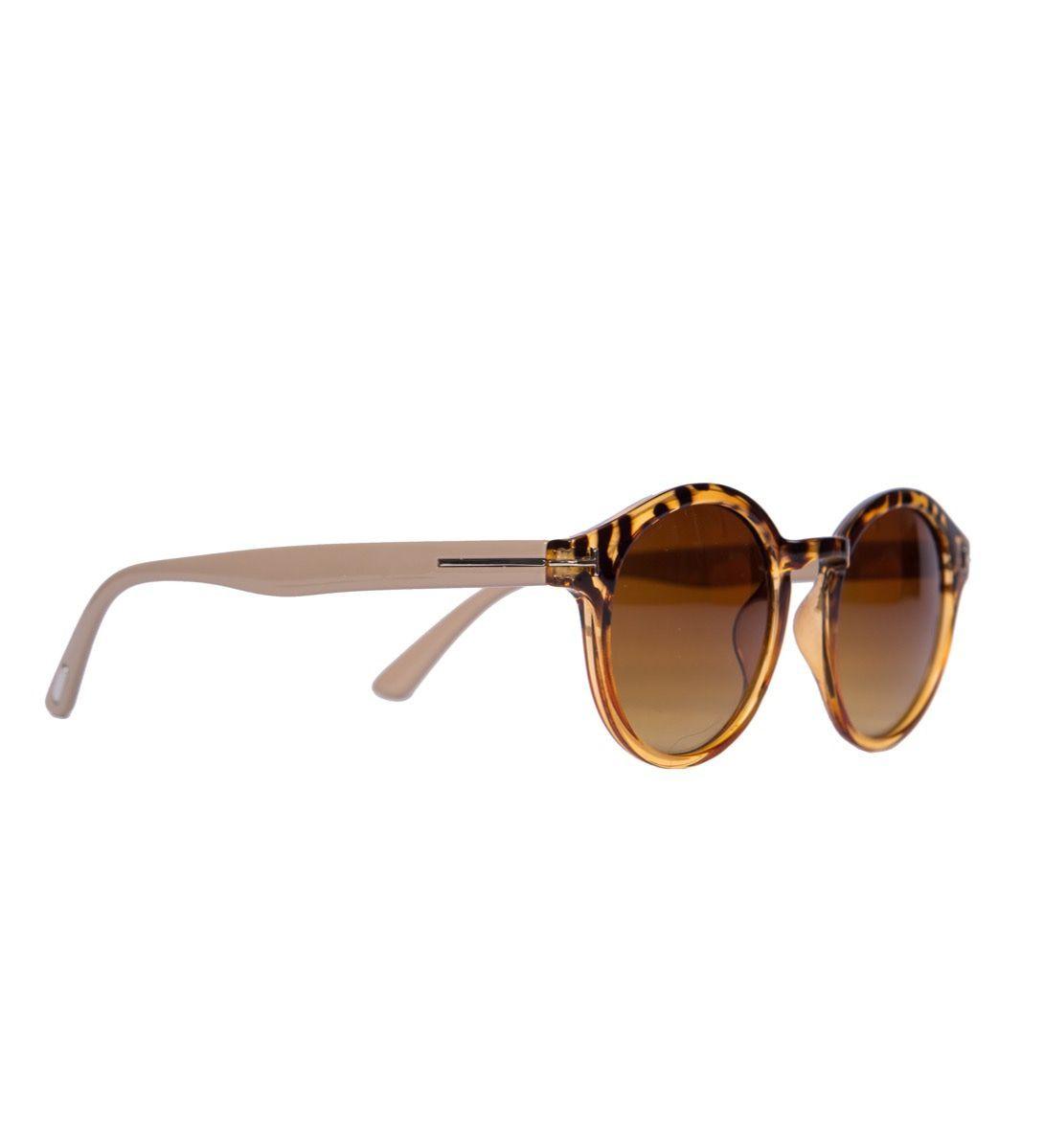 Powder Erin Sunglasses in Tortoiseshell and Latte