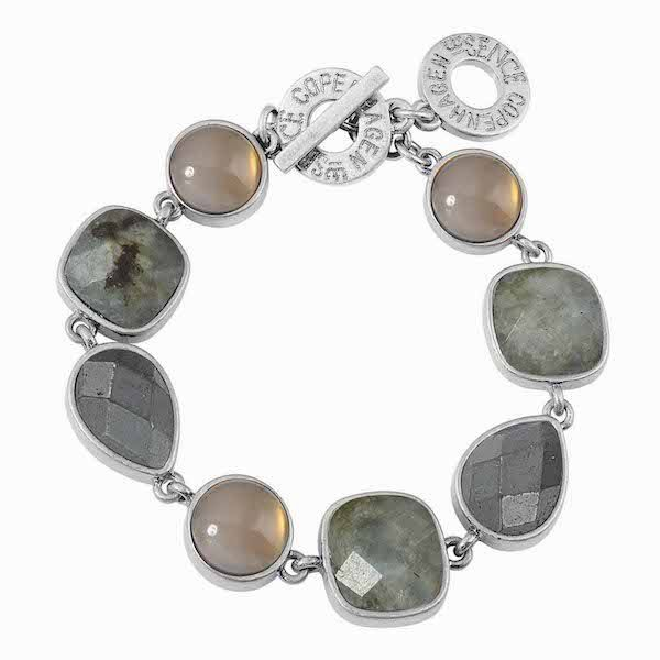 Fusion bracelet in worn Silver F281