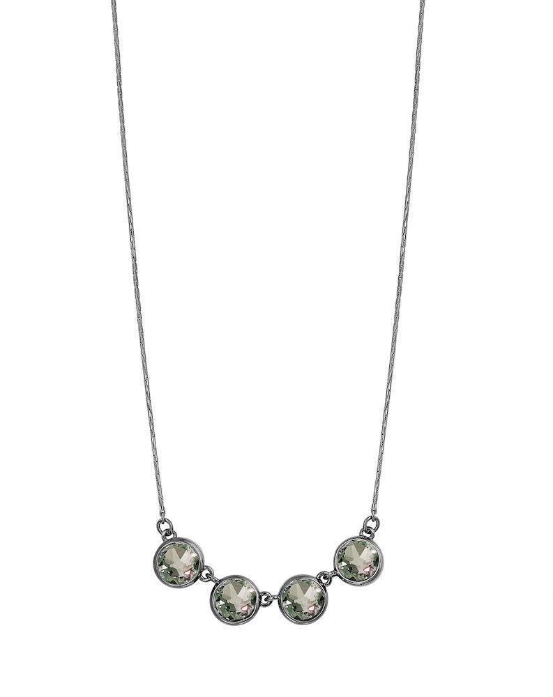 Celebration Necklace Worn Hematite F296