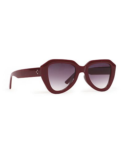 Powder Gianna Sunglasses in Red