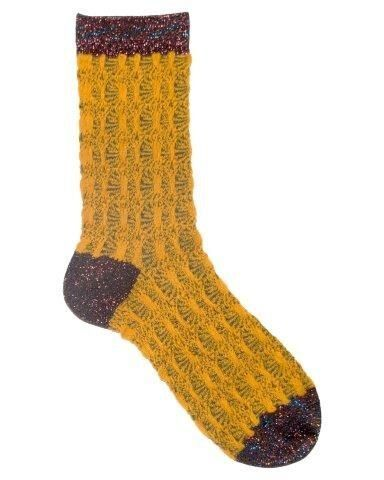 Unmade Copenhagen Diane Sock in Gold