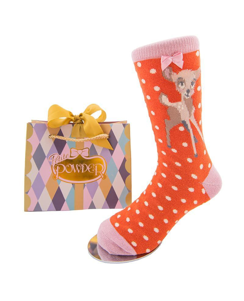 Powder Little Girl's Bambi Socks Age 2 - 4 years