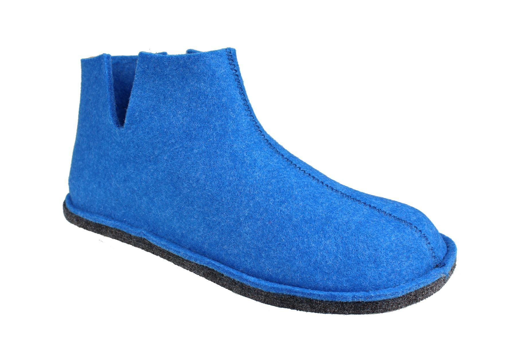 Sanita Haggy Eco- friendly Indoor Shoe In Blue