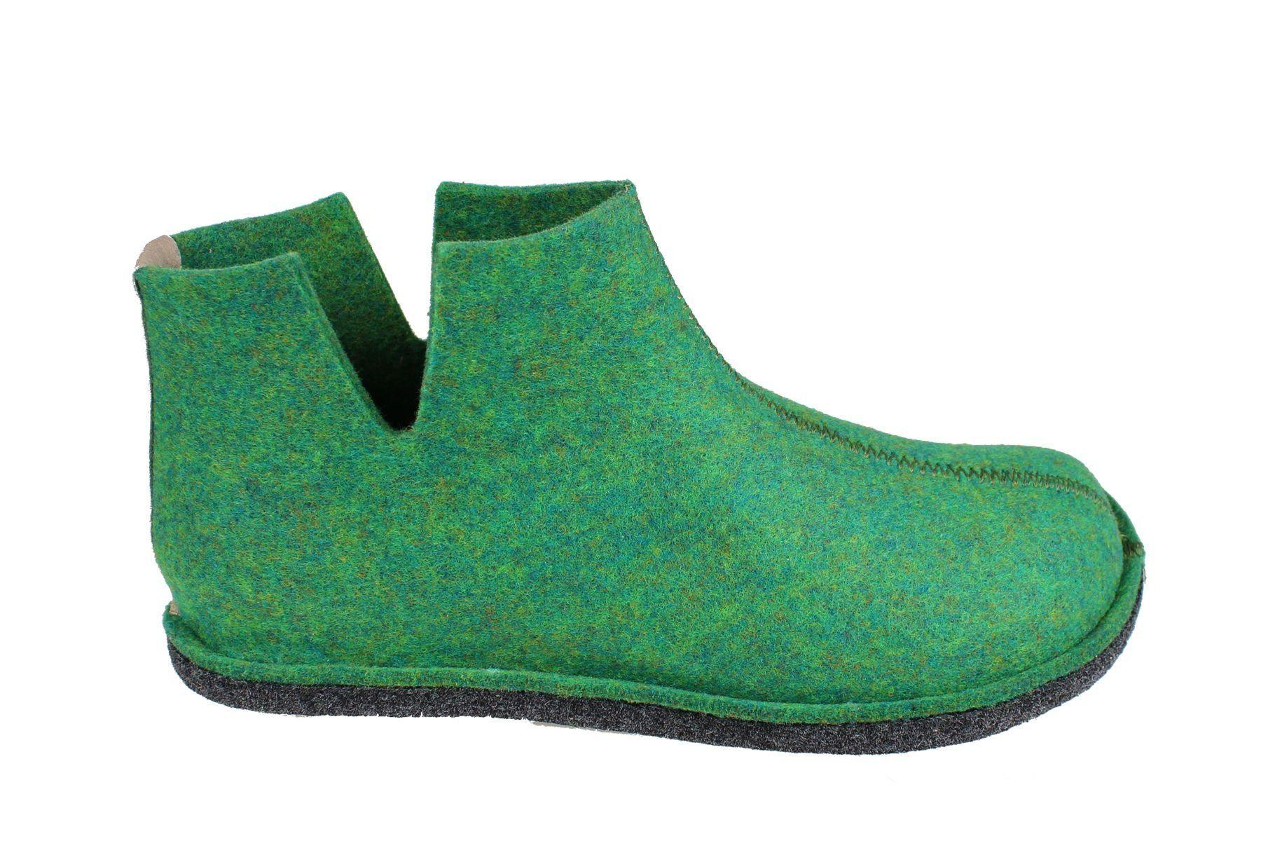 Sanita Haggy Eco- friendly Indoor Shoe in Dark Green