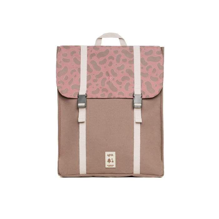 Lefrik Handy Rucksack in Multi Pink