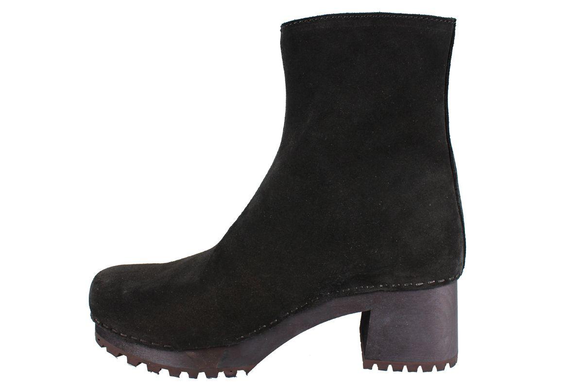 Sanita Henna Flex Sole Black Suede Boots