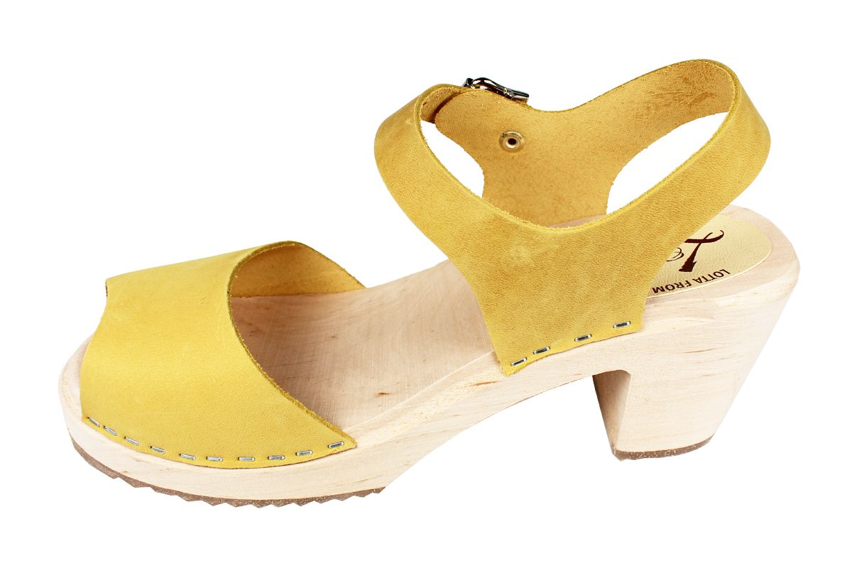 Highwood Open Yellow Oiled Nubuck Leather Seconds