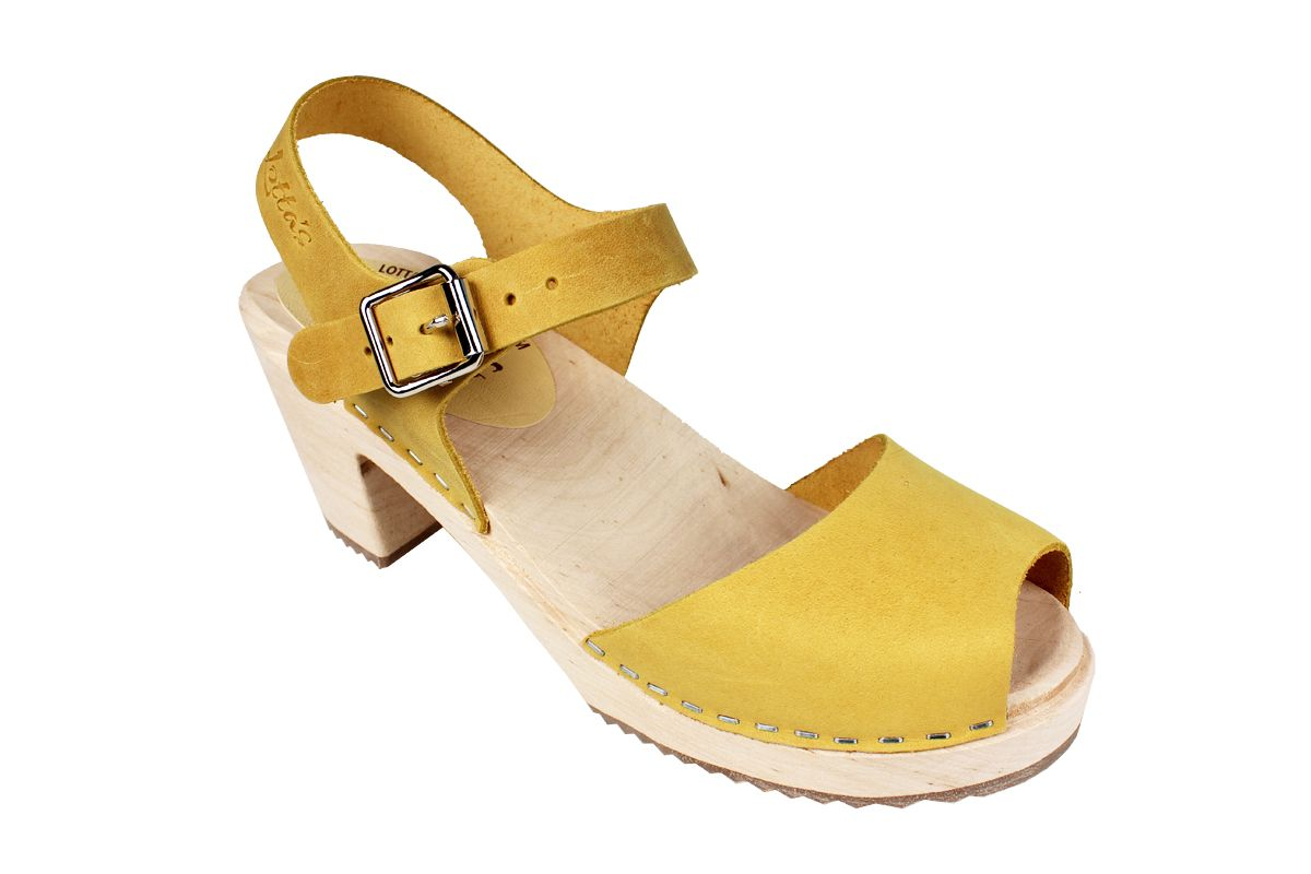 Highwood Open Yellow Oiled Nubuck Leather