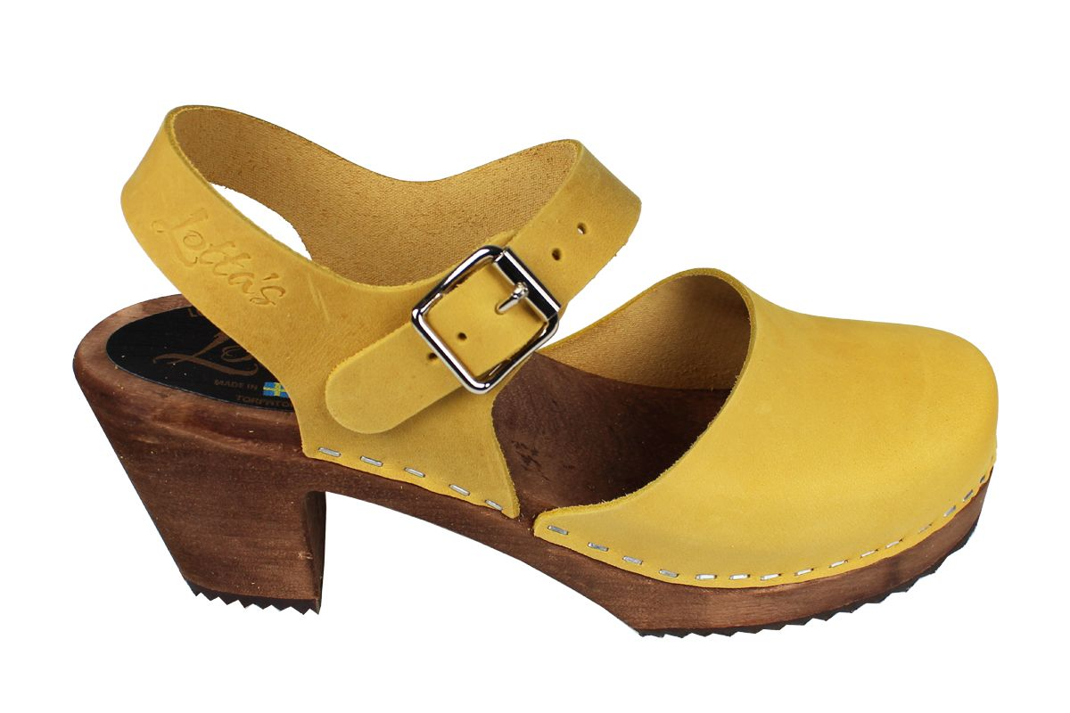 Highwood Yellow Oiled Nubuck on Brown Base Seconds