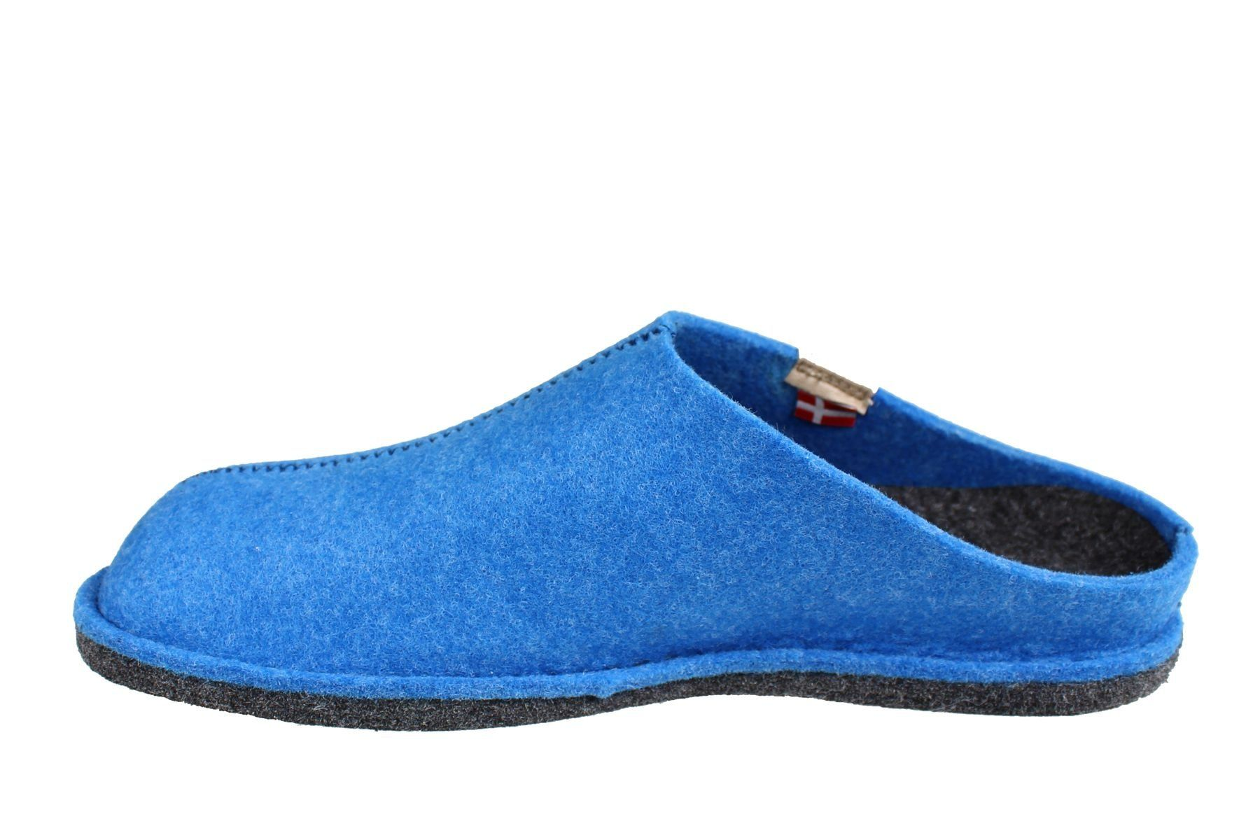 Sanita Hogga Eco- friendly Slip- on Indoor Shoe In Blue