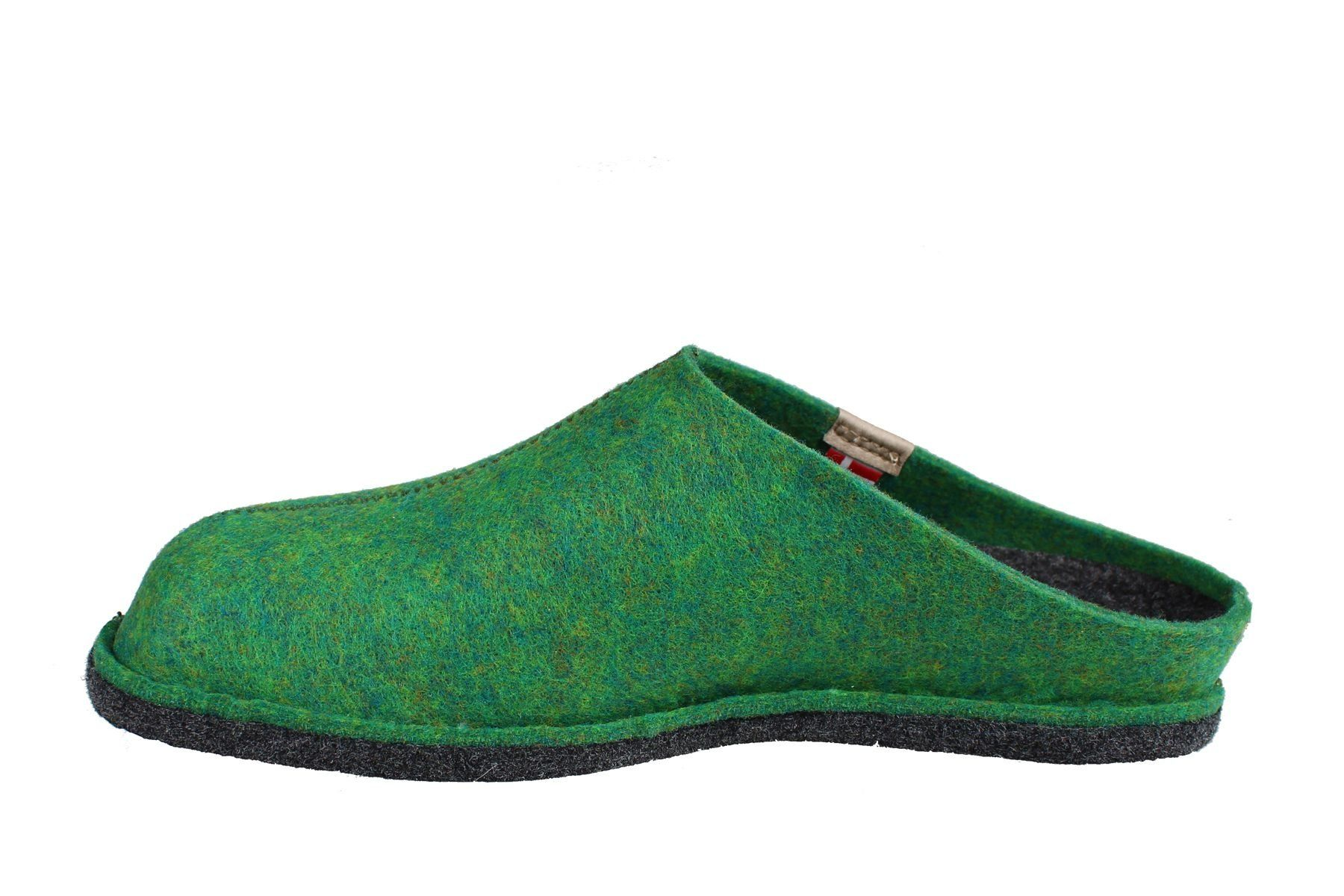 Sanita Hogga Eco- friendly Slip- on Indoor Shoe In Dark Green