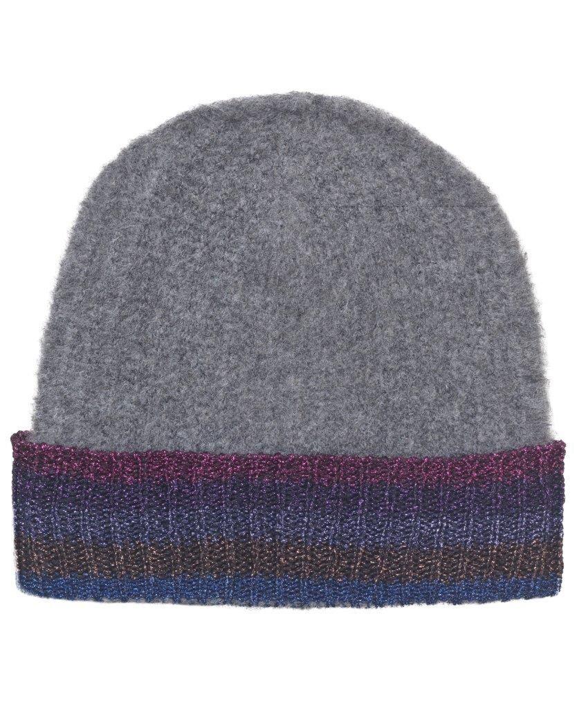 Unmade Copenhagen Totie Hat in  Dark Grey