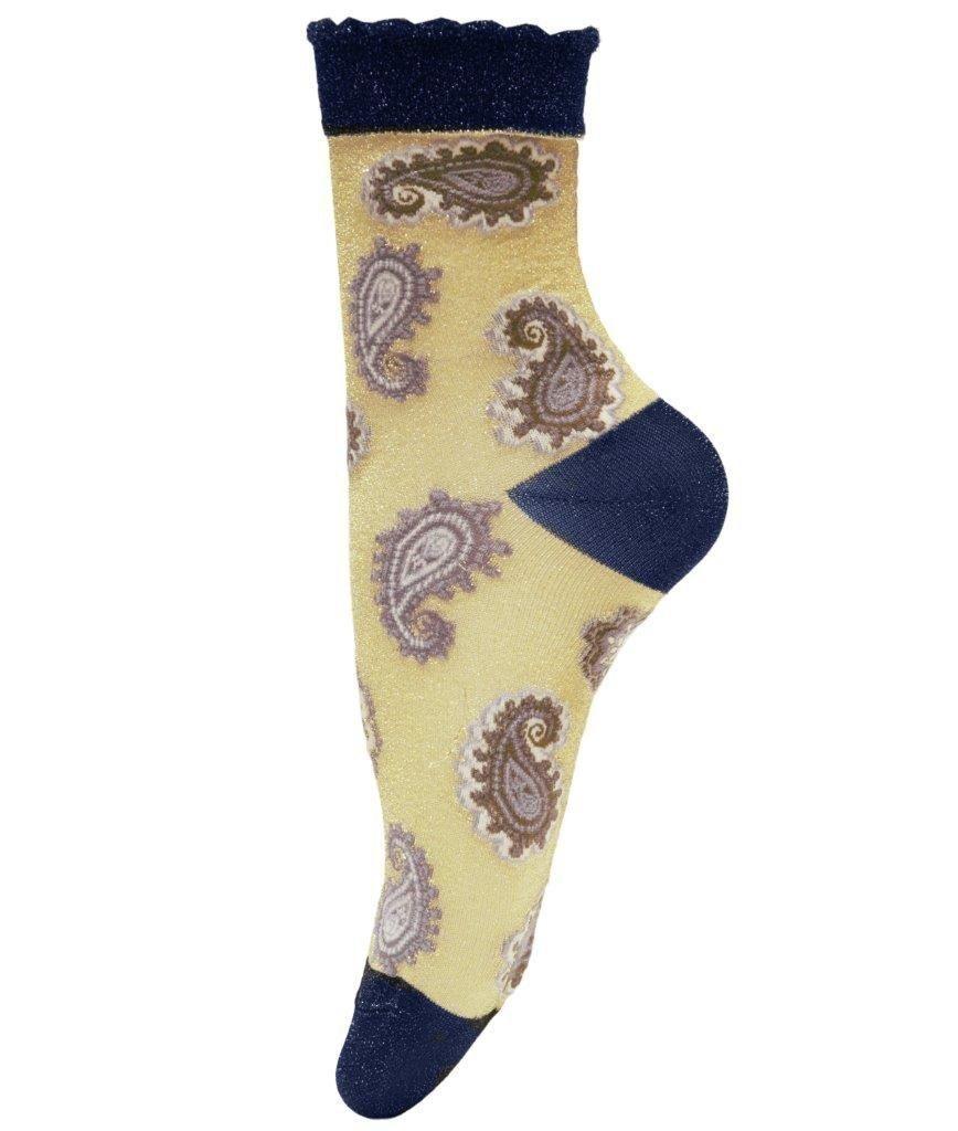 Unmade Copenhagen Zina Sock in Gold