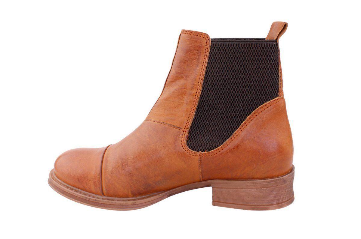 Ten Points Pandora Cognac Chelsea Boot