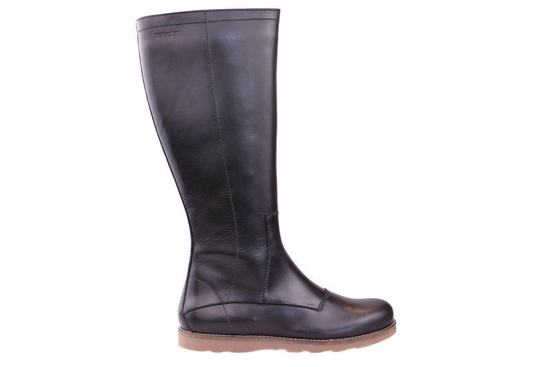Ten Points Carol Black Knee High Boots