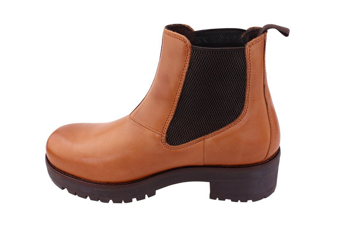 Ten points Clarisee Chunky Chelsea boot Cognac