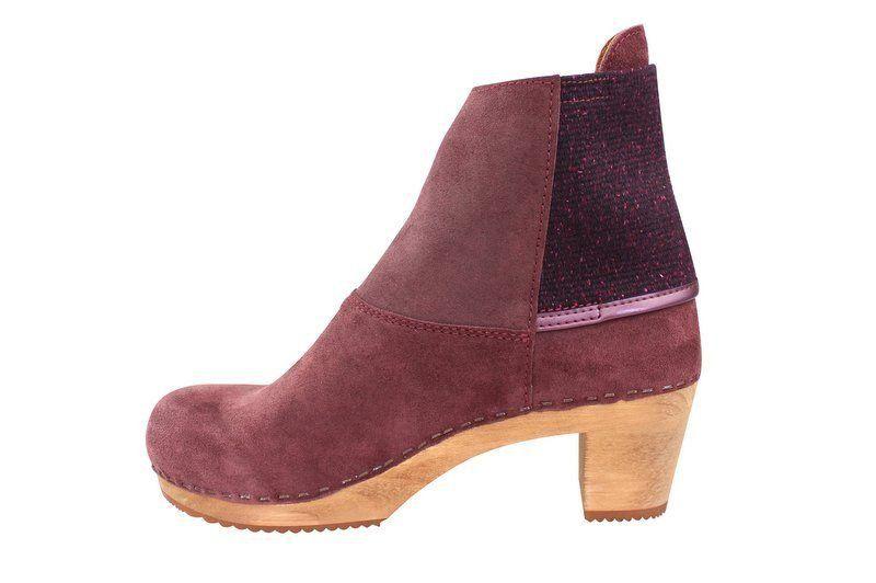 Sanita Lilly Boot Aubergine