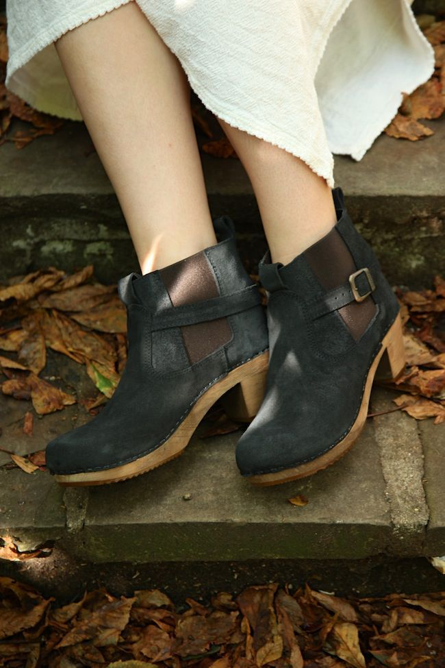Sanita Peggy Sue Jodphur style ankle boots Black style