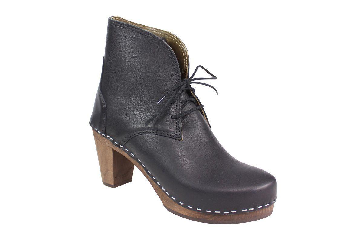 Maguba Casablanca High Heel Clog Boot Black Main