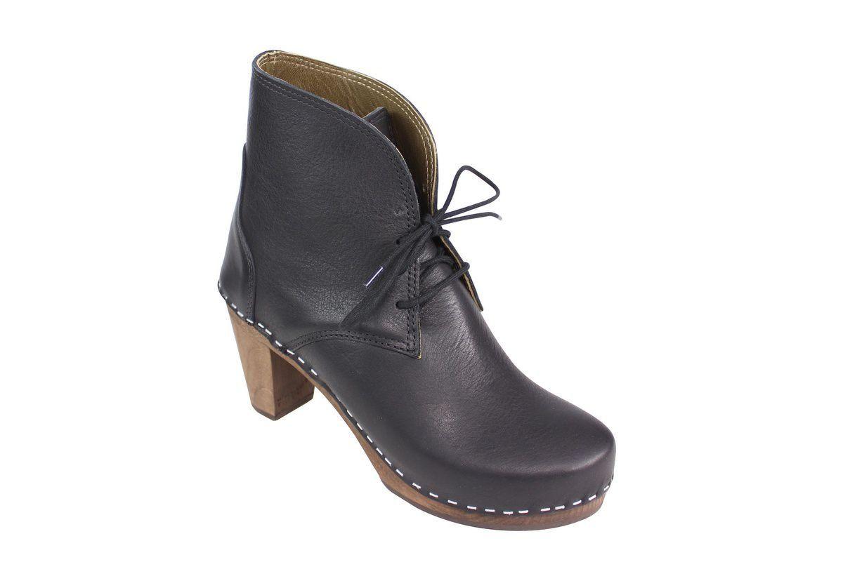 Maguba Casablanca High Heel Clog Boot Black