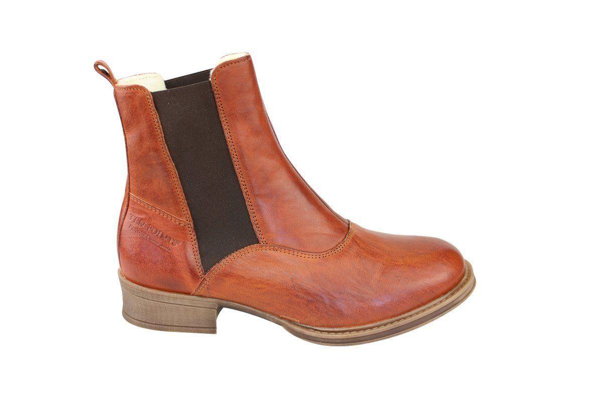 Ten Points Pandora Brandy Chelsea Boot