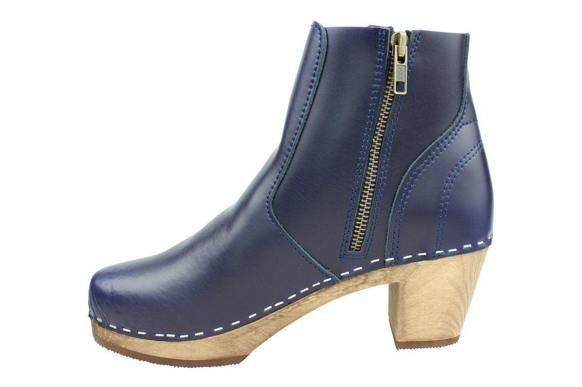 Maguba Auckland Tan Clog Ankle Boots