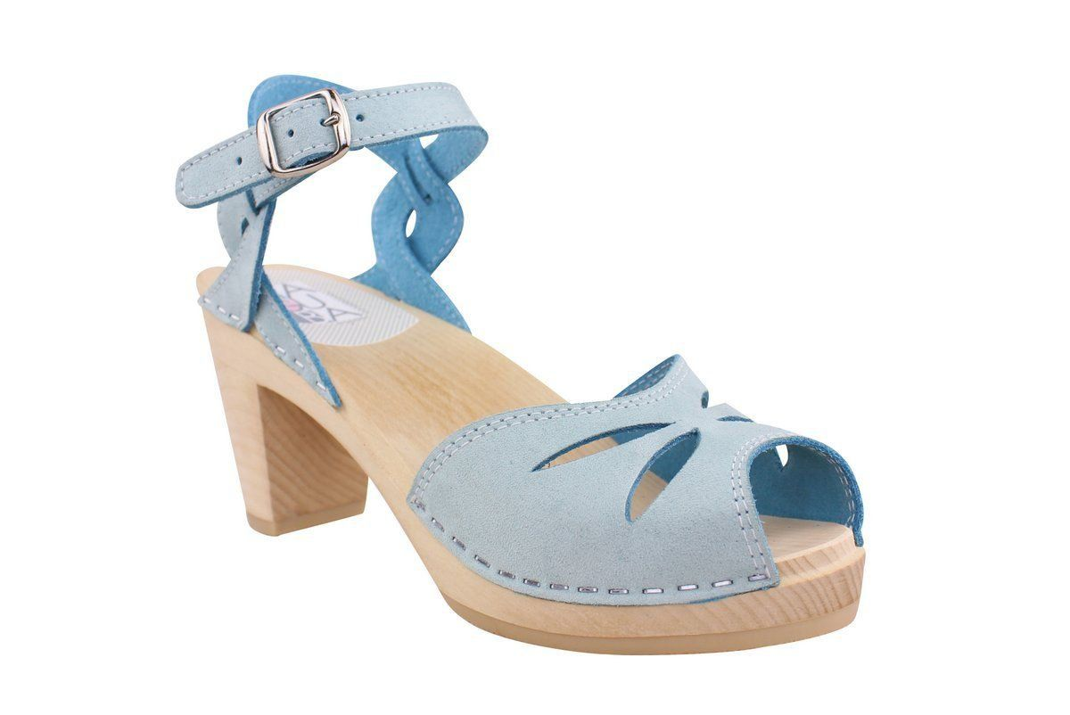 Maguba Rio High Heel Baby Blue