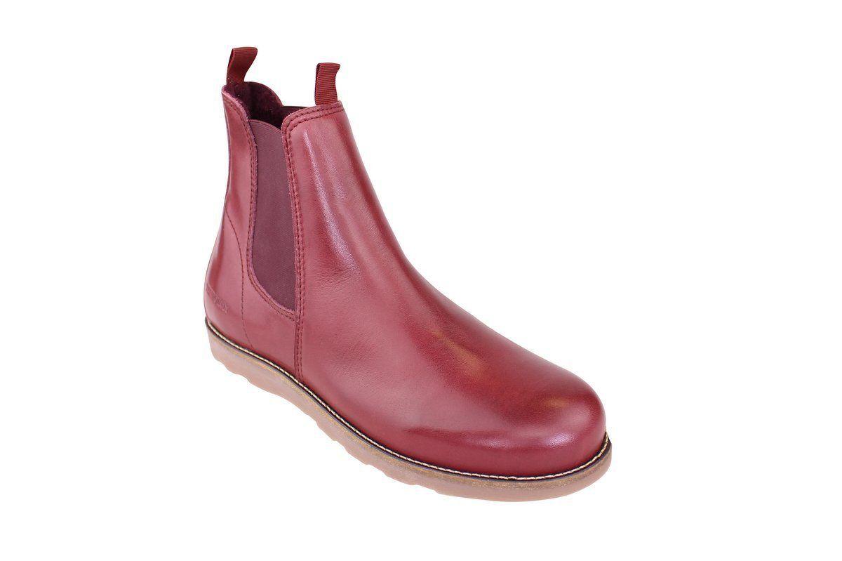 Ten Points Carol Bordeaux Chelsea Boot