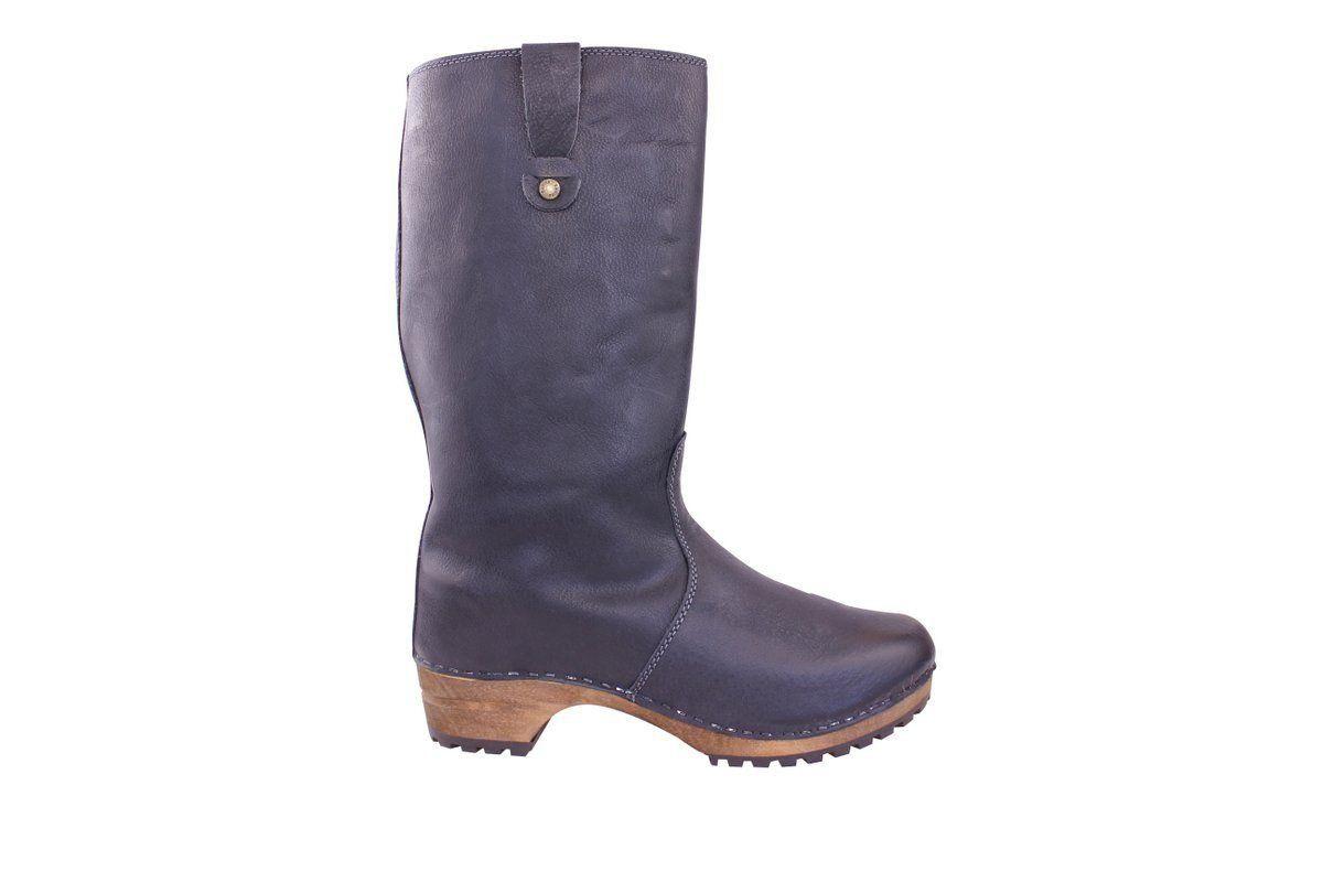 Sanita Malison Clog Boot in Black