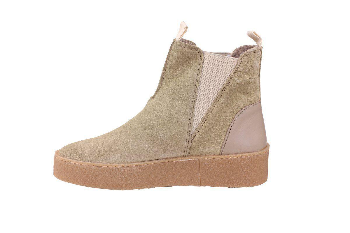 Ten Points Johanna Boots in Sand