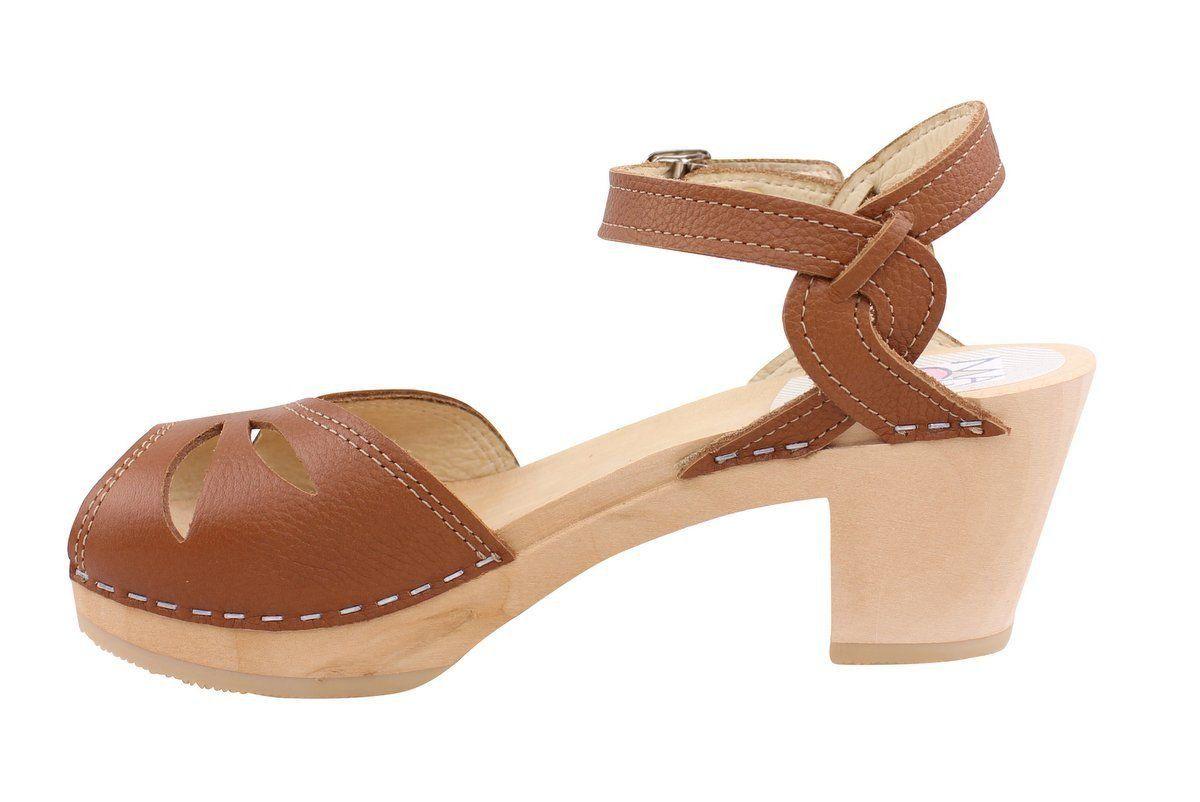 Maguba Rio Medium Heel in Tan