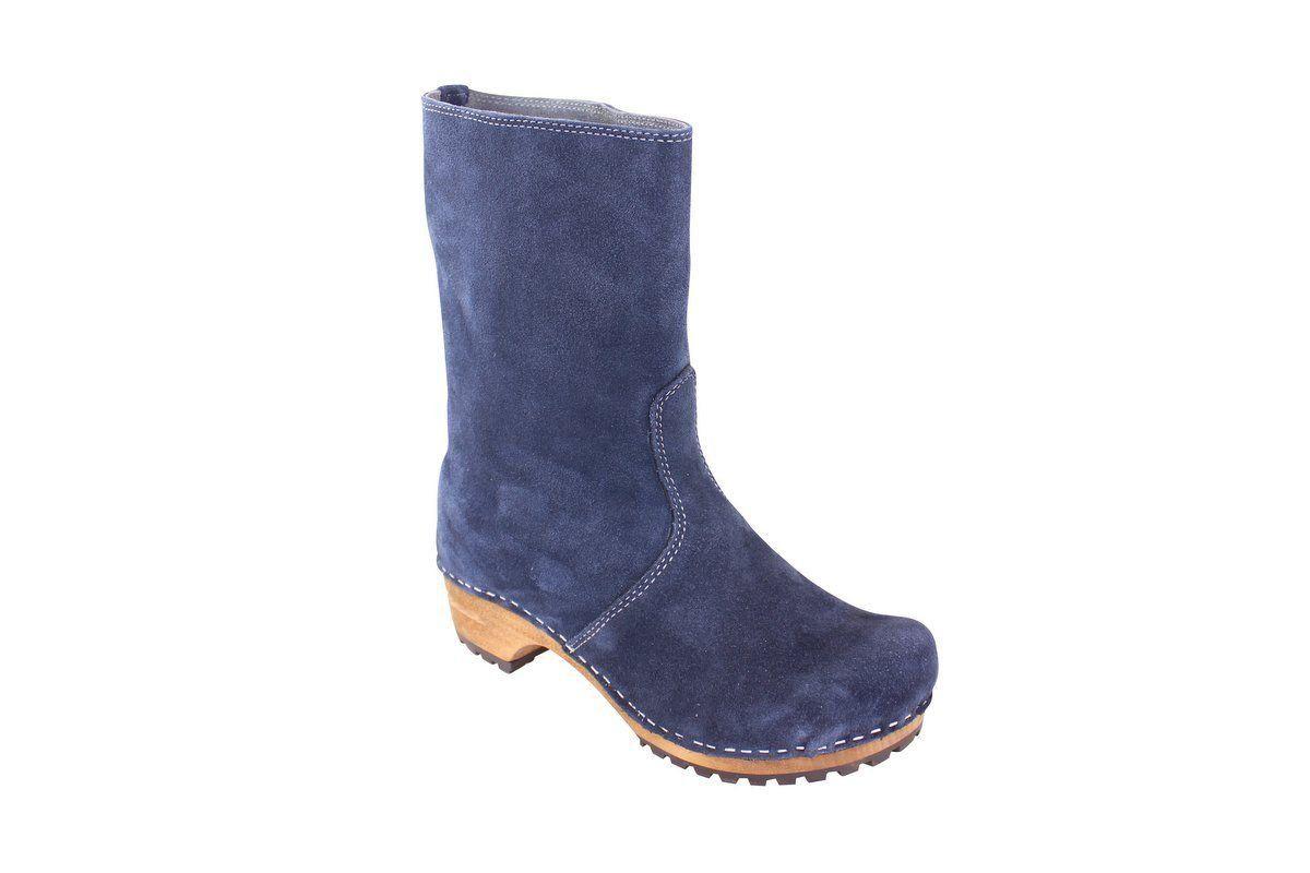 Sanita Charlotta Navy Clog Boot