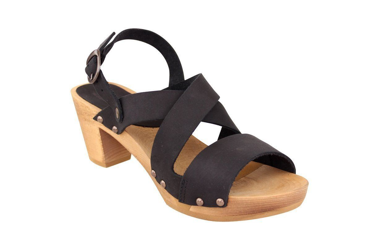 Sanita Olympia Flex Sandal in Black