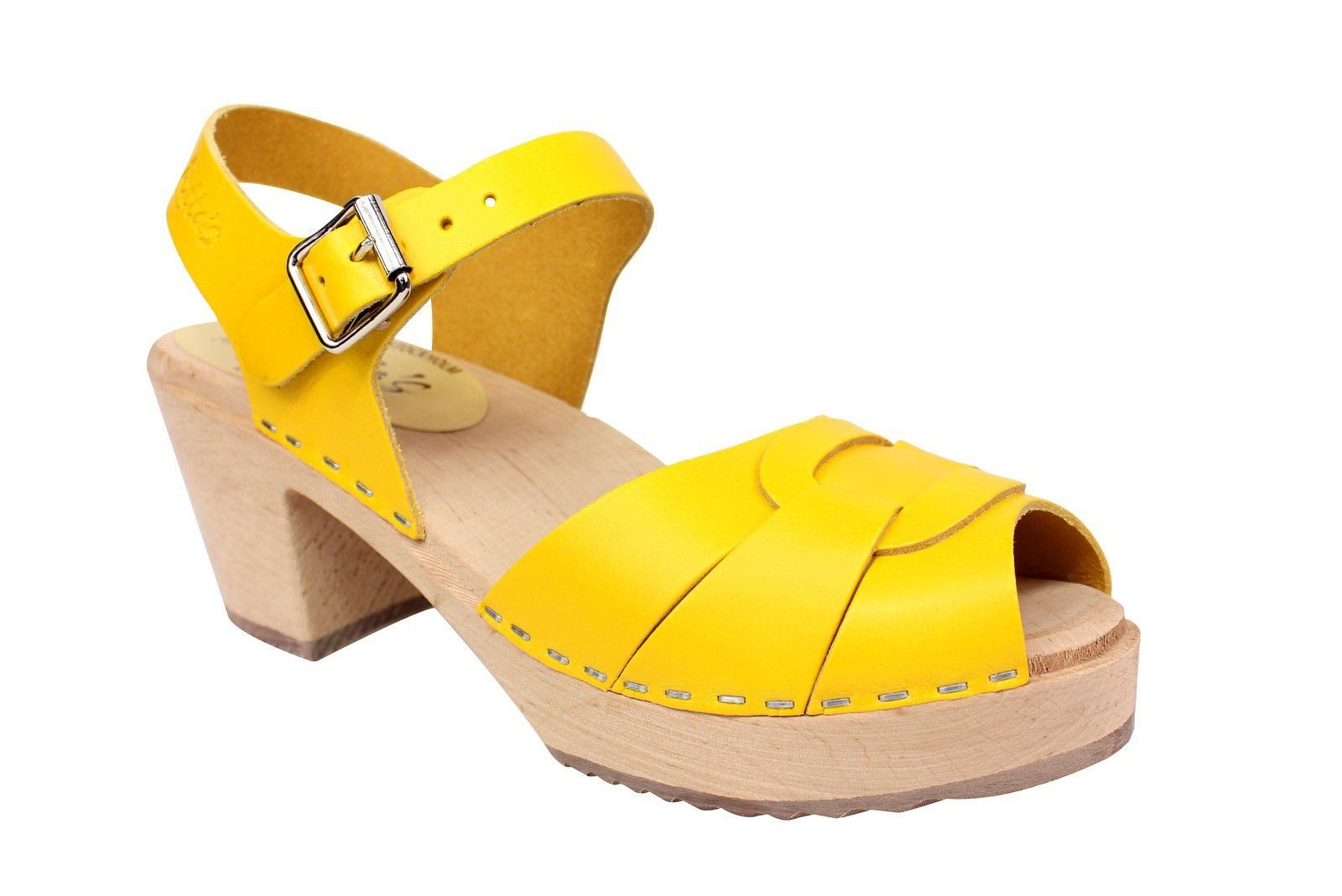 Lotta From Stockholm Peep Toe Summer Yellow Main