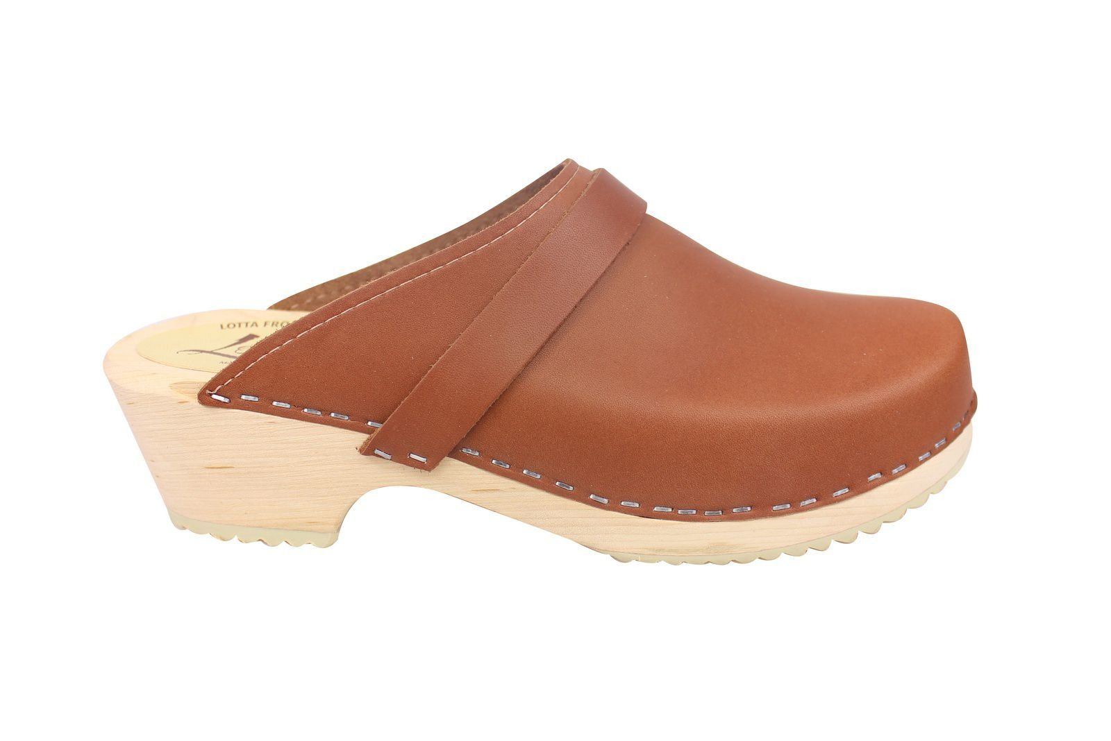 Torpatoffeln Classic Tan Clogs Seconds Side