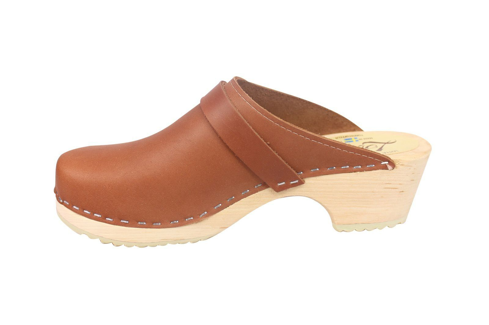 Torpatoffeln Classic Tan Clogs Seconds Rev Side