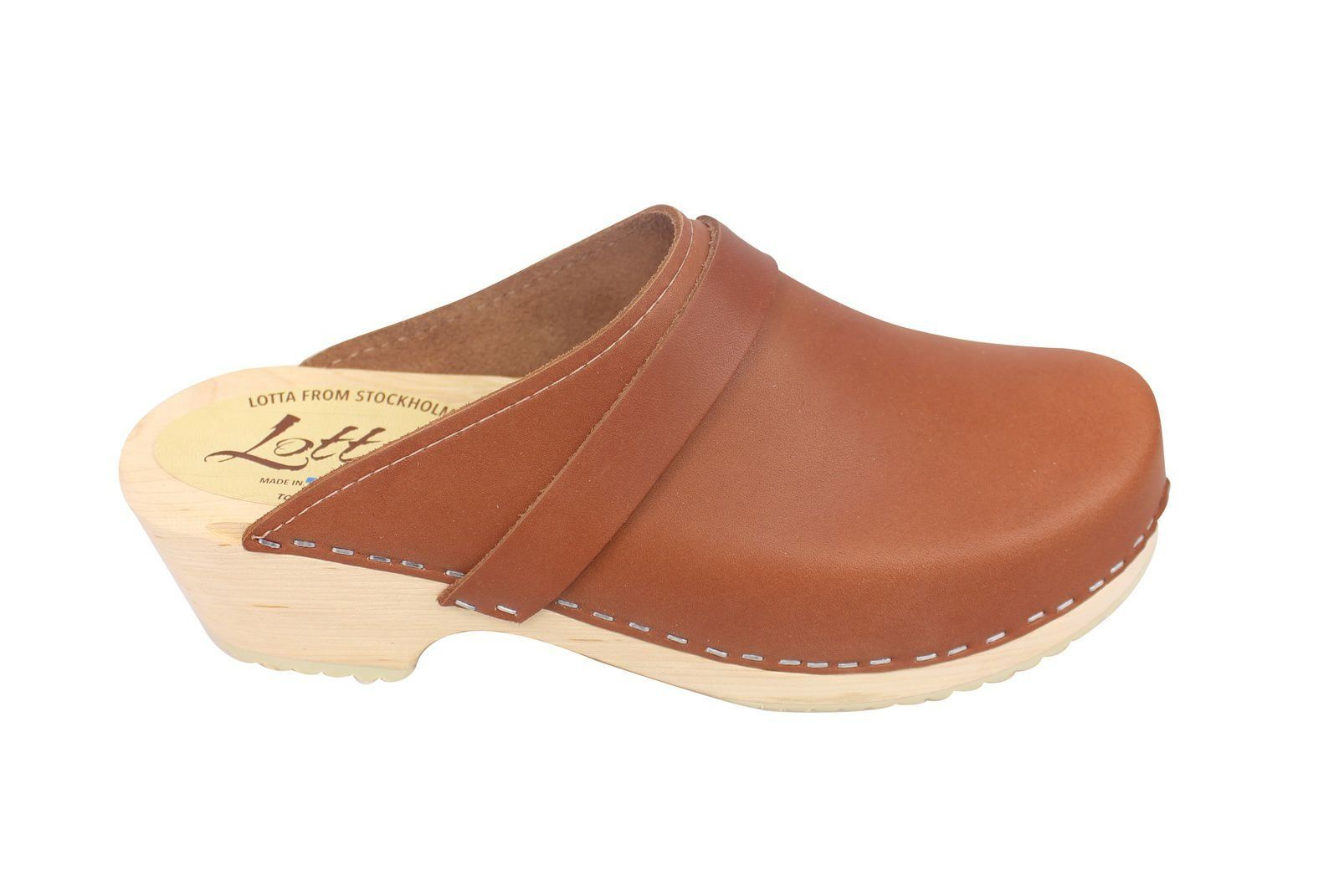 Torpatoffeln Classic Tan Clogs Seconds Side 2