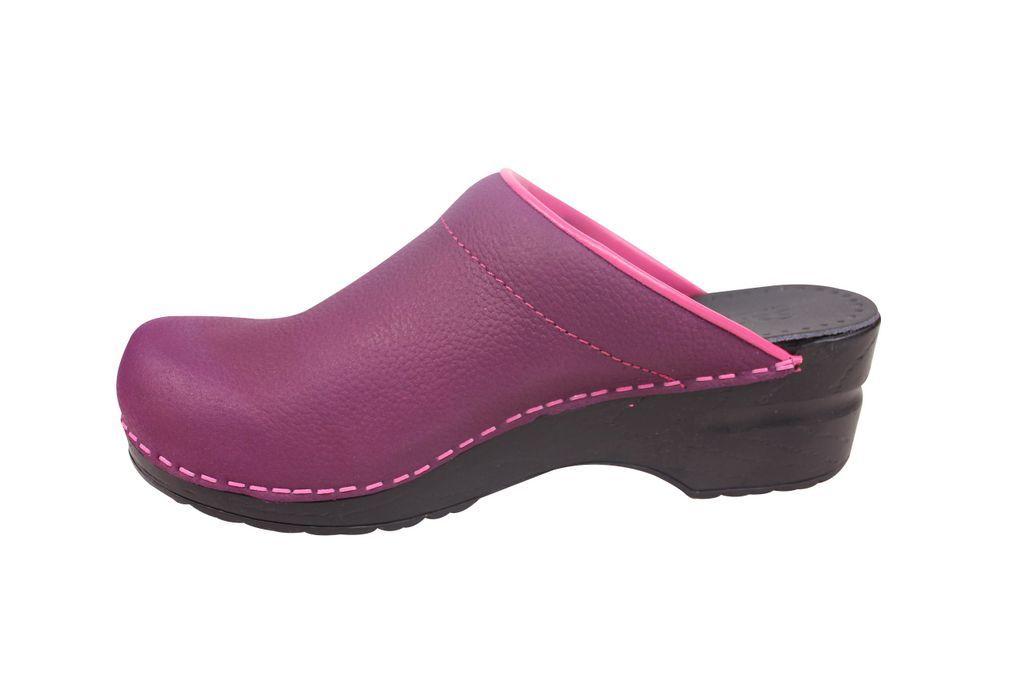 Sanita Original Eden Open Purple 457248 Rev Side