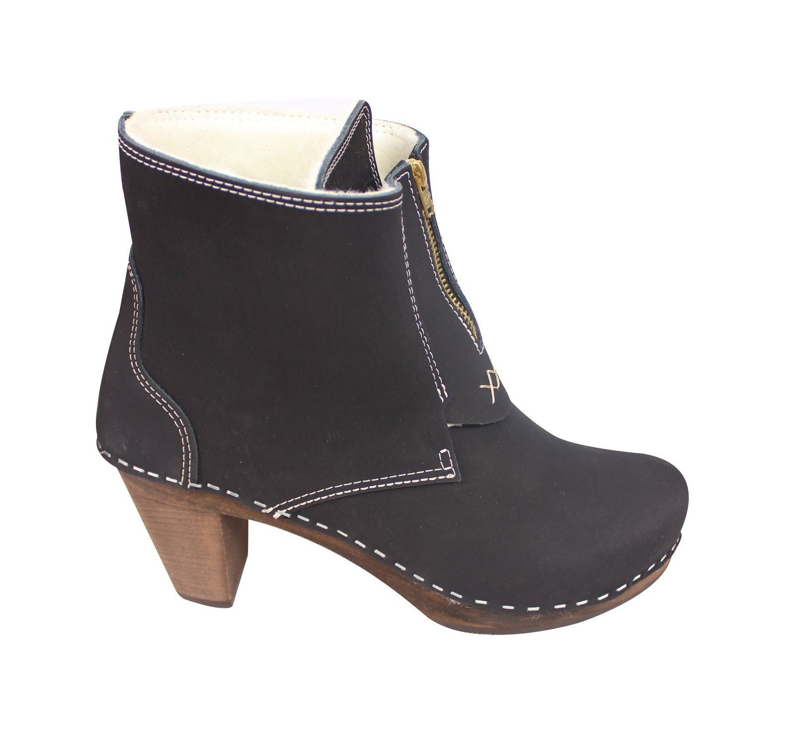 Vancouver High Heel Black Side 2