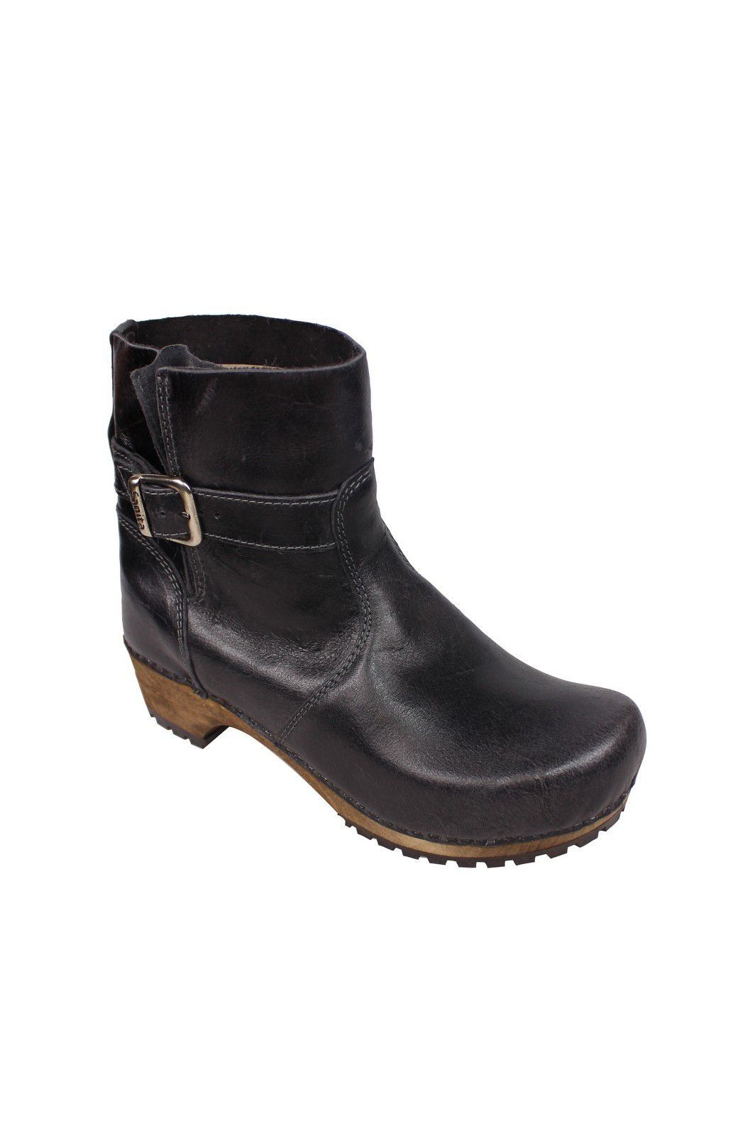Sanita Mina Low Classic Clog Boot Black 452330