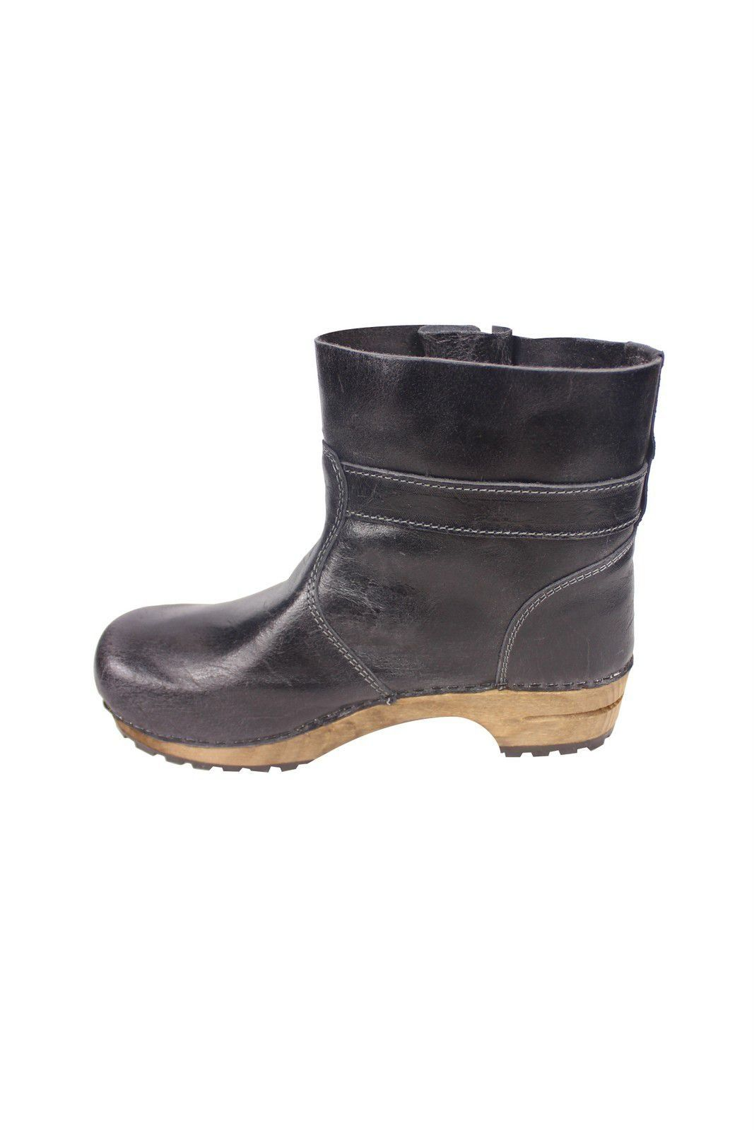Sanita Mina Low Classic Clog Boot Black 452330 Rev Side 2