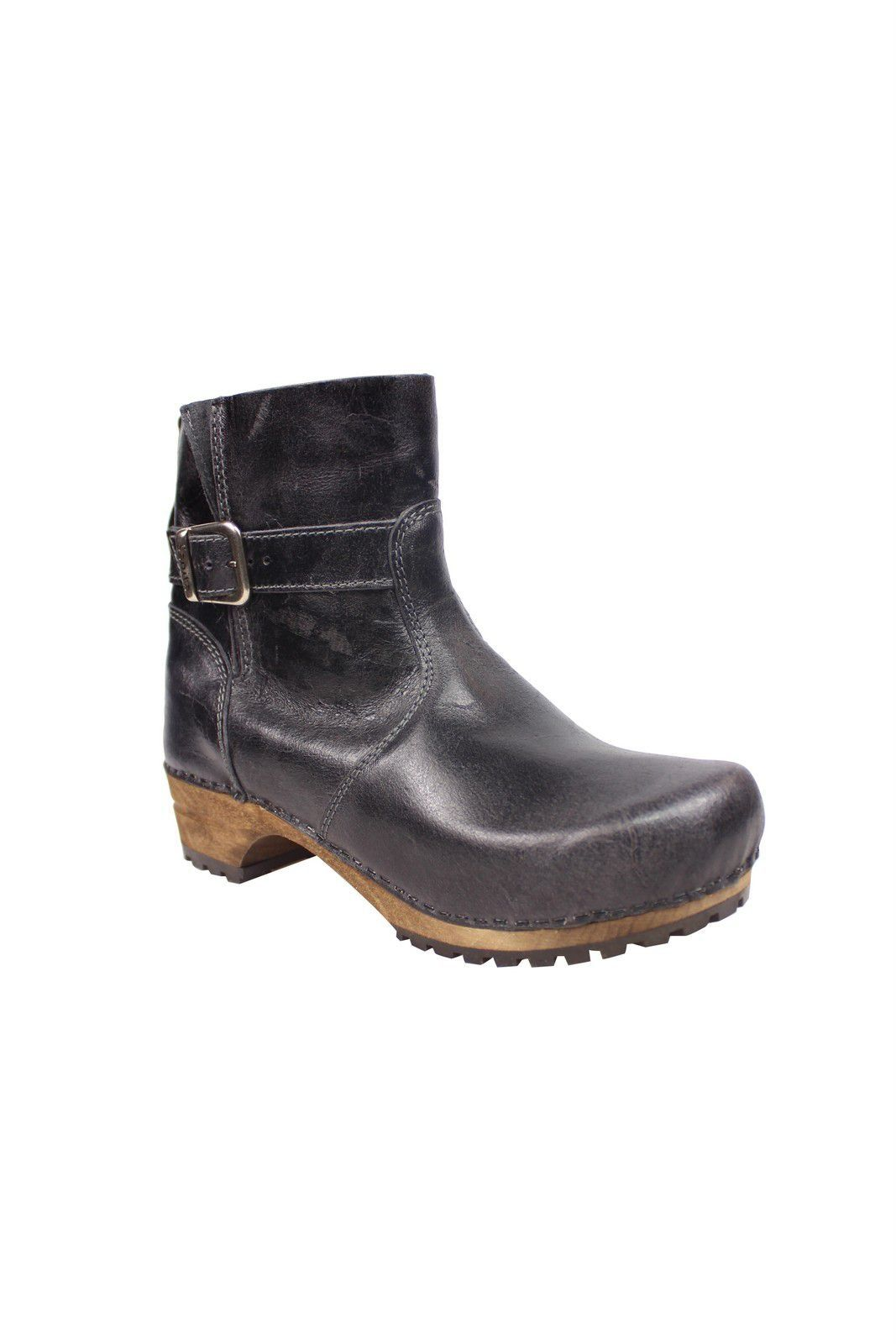 Sanita Mina Low Classic Clog Boot Black 452330 Main