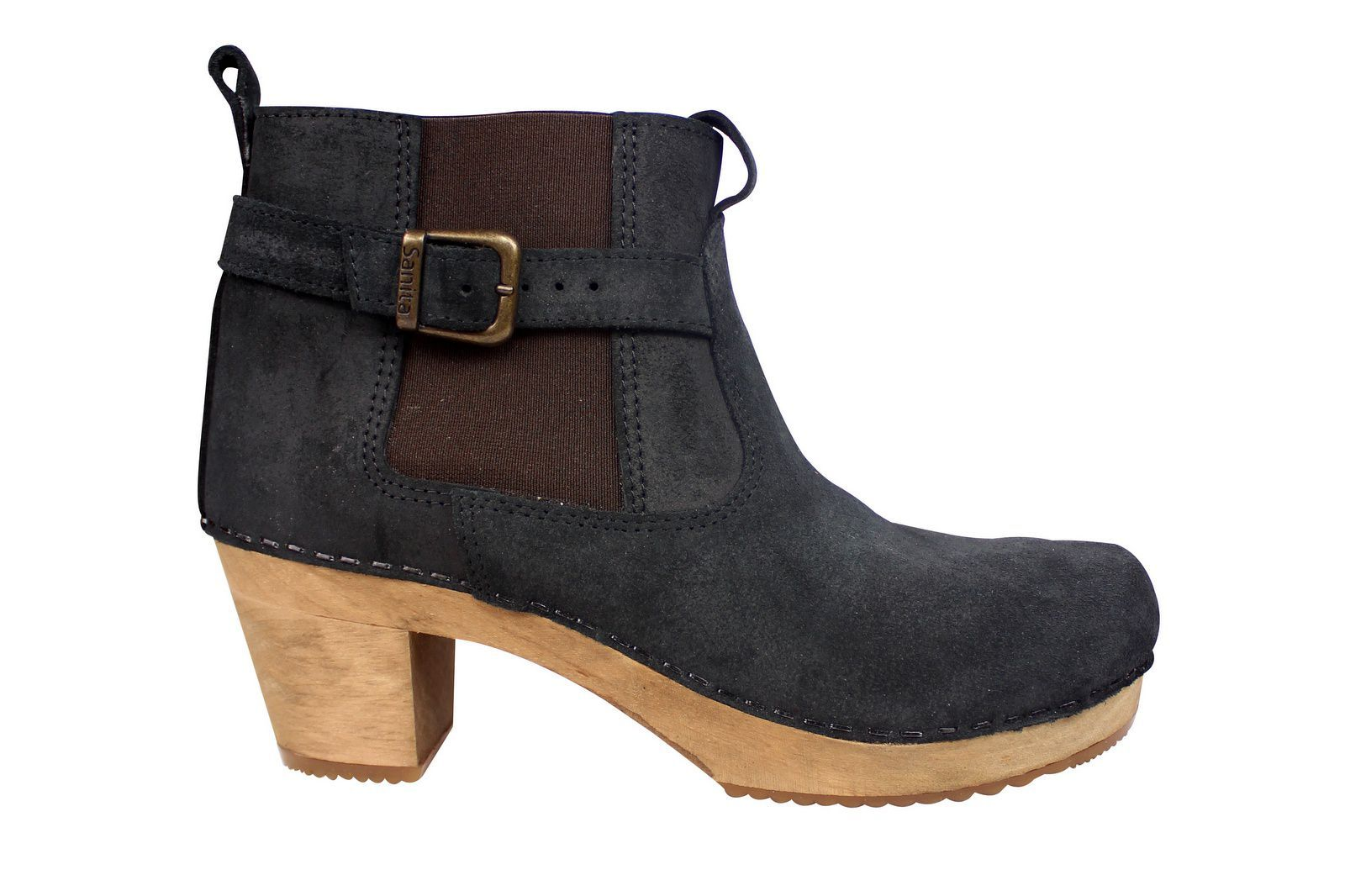 Sanita Peggy Sue Jodphur style ankle boots Black Side