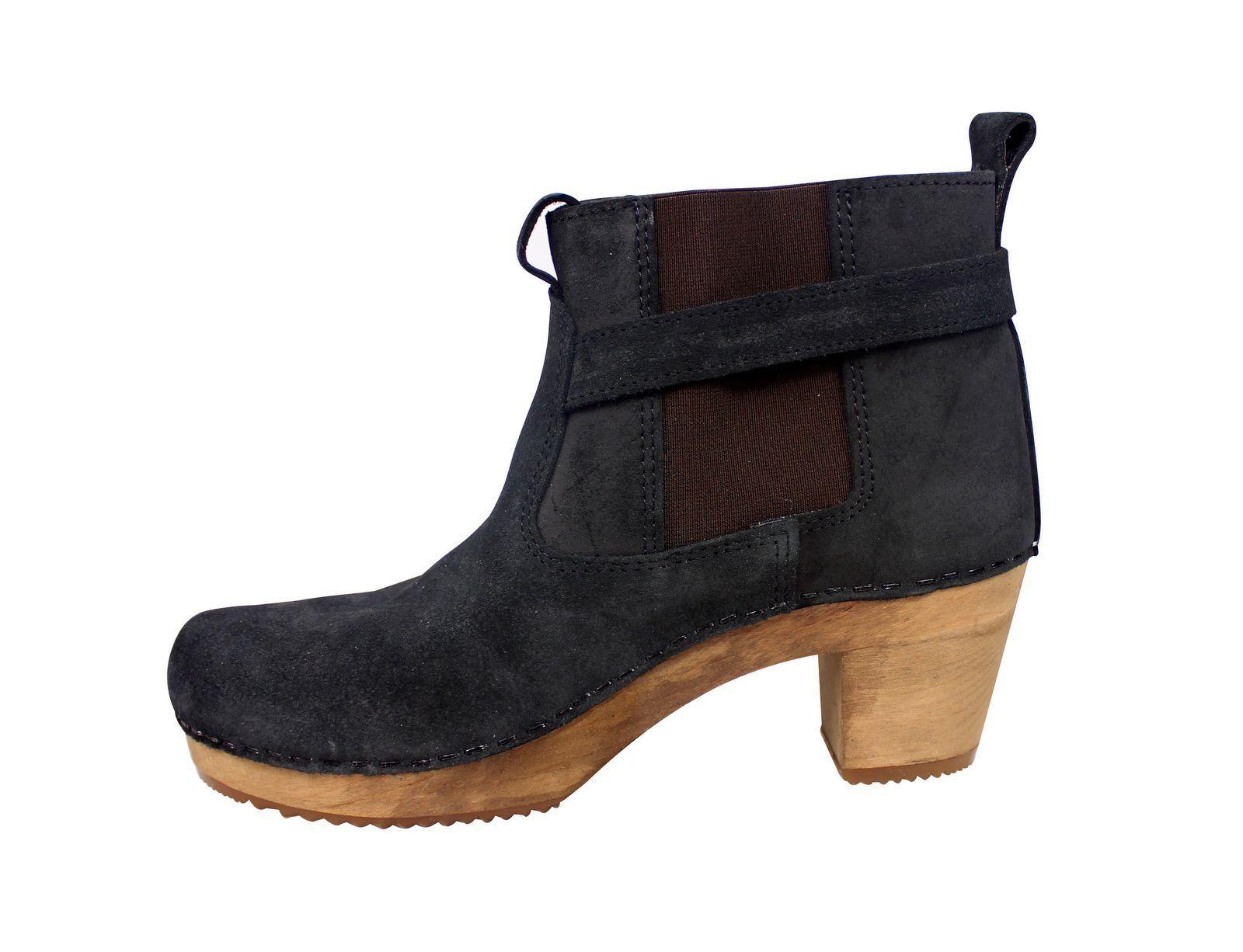 Sanita Peggy Sue Jodphur style ankle boots Black Rev Side