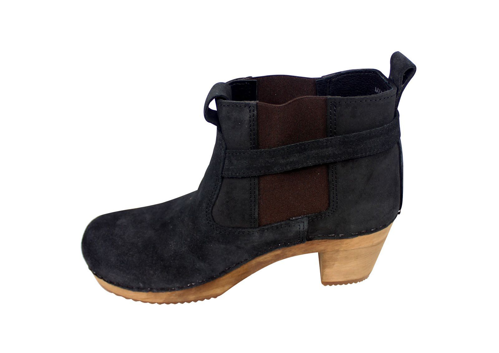 Sanita Peggy Sue Jodphur style ankle boots Black Rev Side 2