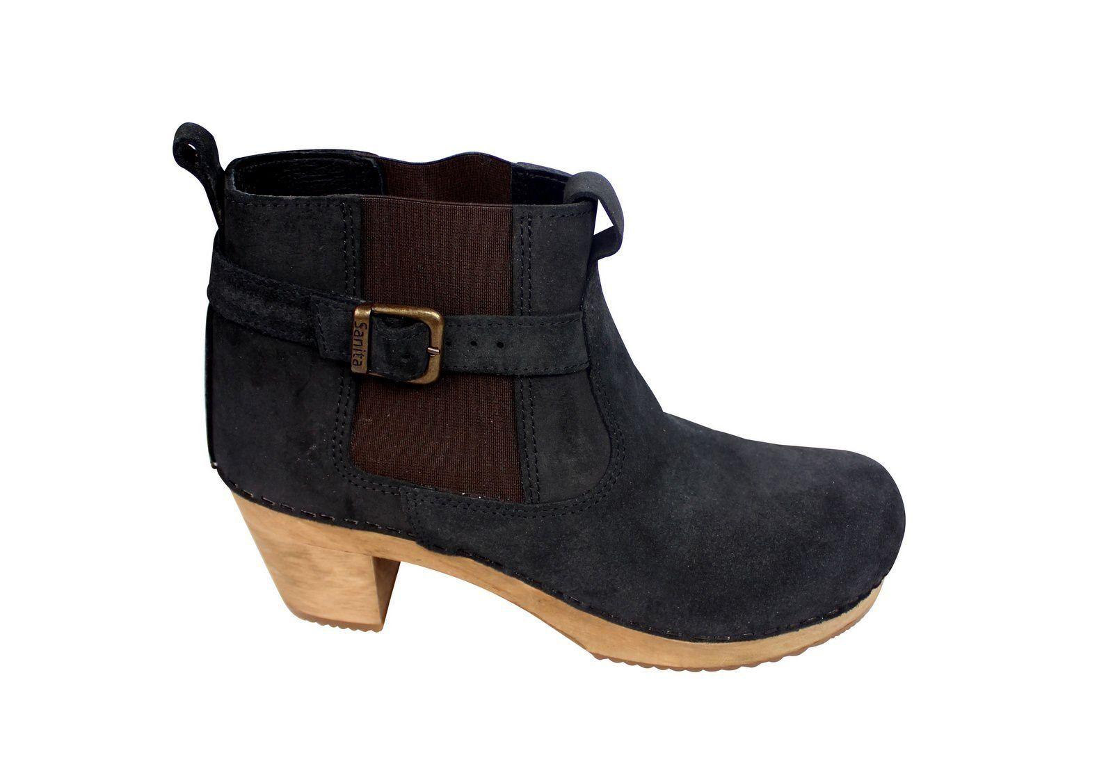 Sanita Peggy Sue Jodphur style ankle boots Black Side 2